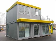 Shipping container office - modern design