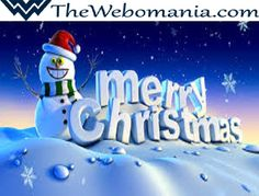 Merry Christmas to all my Friends from THEWEBOMANIA Team.