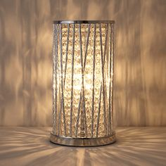 Buy John Lewis & Partners Emilia Crystal Table Lamp, Clear from our Desk & Table Lamps range at John Lewis & Partners. Table Desk, Table Lamp, Light Effect, Light Fittings, John Lewis, Glass Beads, Bulb, Lounge, Crystals