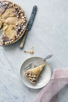 pear and hazelnut tart | Cannelle et Vanille