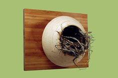 Outdoor Garden Meadow Bird Nest Box finegardenproducts.com