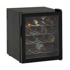 #Avanti 16 Bottle Free Standing Wine Cooler - Black  #holidayshopping #holidaygifts #winecooler