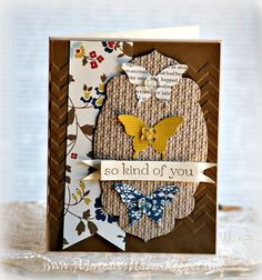 Stampin' Up! Card  by Mercedes Weber at Creations by Mercedes
