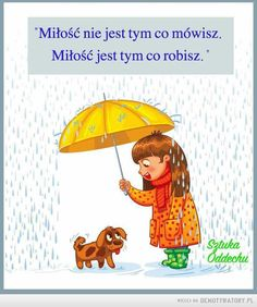 The girl under an umbrella with a small homeless puppy. Protect pet from autumn rain. Isolated on white background , Funny Cartoon Characters, I Love Rain, Autumn Rain, Life Changing Quotes, Lessons Learned In Life, Meaning Of Love, Free Vector Images, Puppies, Motivational Board