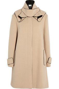 Chloé Wool-blend coat   THE OUTNET