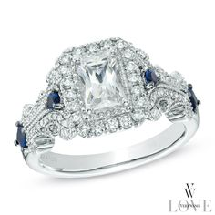The new Vera Wang collection is gorgeous. I'm probably dreaming big here, but I LOVE this ring.