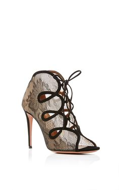 French Kiss Lace Pumps by AQUAZZURA Now Available on Moda Operandi