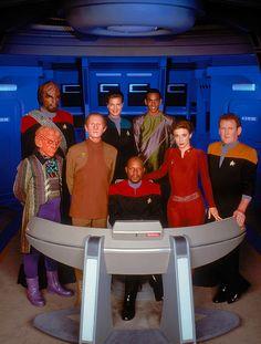 Star Trek Deep Space 9 Crew Yep, watched this one too...