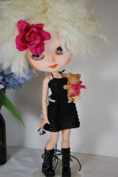 RESERVED for Trudy Custom Blythe/Icy Doll OOAK by EmmyBlythe, $100.00