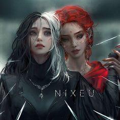 Fantasy Art Women, Beautiful Fantasy Art, Dark Fantasy Art, Fantasy Girl, Fantasy Artwork, Arte Digital Fantasy, Digital Art Girl, Fantasy Character Design, Character Inspiration