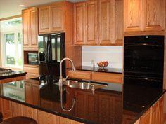 maple kitchen cabinets with black appliances. Kitchen With Black Appliances | Alternatives To Stainless??? - Kitchens Forum GardenWeb Maple Cabinets N