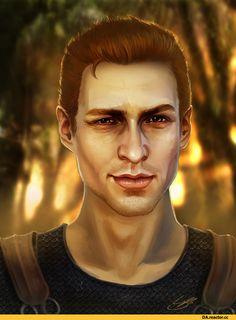 Алистер,DA персонажи,Dragon Age,фэндомы,DAO,Набрасываться нехорошо.
