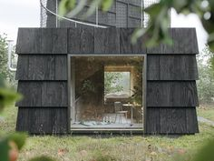 Shed Roof, House Roof, Livingston, Cozy Living Spaces, Architecture Awards, House Architecture, Tree Canopy, Small Buildings, Small Houses