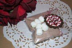 12 Hot Chocolate Favors Hot Cocoa Wedding Favor by FavorsbyLauren, $20.00