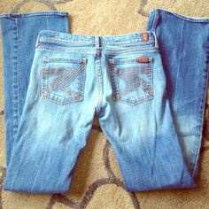 7FAMK Jeans Perfect condition 7 for all Mankind Jeans Boot Cut