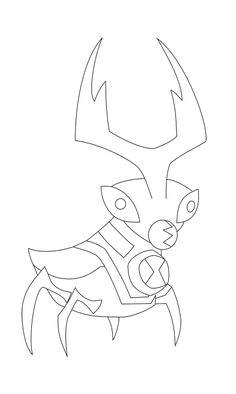 Ballweevil Change Of Ben Teen Coloring Page