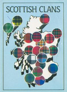 Scottish Clans Map
