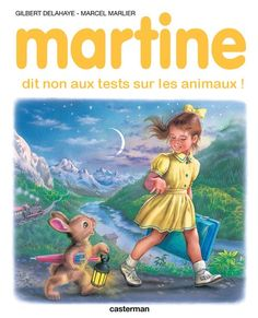 Martine says no to animal testing