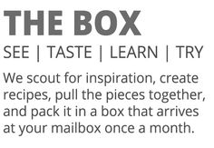 New Food Subscription Box Service: A Kitchen Box | My Subscription Addicition