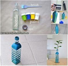 Lovely idea for upcycling bottles
