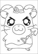 Coloriages dessins Hamtaro