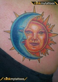 sun and moon tattoos - Google Search