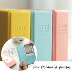 Polaroid Album Case Photo Storage 64 Pocket For Fujifilm Instax Mini 7s 8 25 50s #UnbrandedGeneric