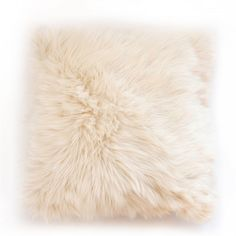 Shop Woven Workz  P141-001 Arctic Fox Faux Fur Pillow at ATG Stores. Browse our decorative pillows, all with free shipping and best price guaranteed.
