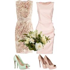 Courthouse Wedding by novelty718 on Polyvore