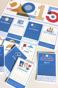 2015 Perforated Brave Wall Calendar