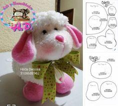Paps e Moldes de Artesanato Sewing Stuffed Animals, Stuffed Animal Patterns, Animal Sewing Patterns, Doll Patterns, Sewing Toys, Baby Sewing, Elephant Crafts, Sock Toys, Free To Use Images