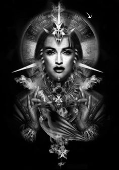 Auteur : Obery Nicolas -  Sujet : Madonna Fantasmagorik -  Website : 7zic.fr