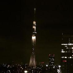 """kakotakase on Instagram: """"Tokio Skytree"""" Tokyo Skytree, Cn Tower, Building, Travel, Instagram, Viajes, Buildings, Destinations, Traveling"""