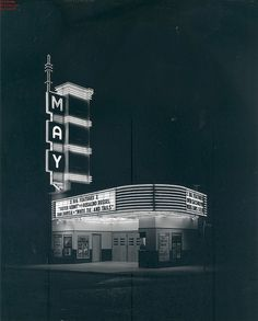 May Theater,I helped remodel this back in the late 80's.when the Oklahoma city Ballet had it.
