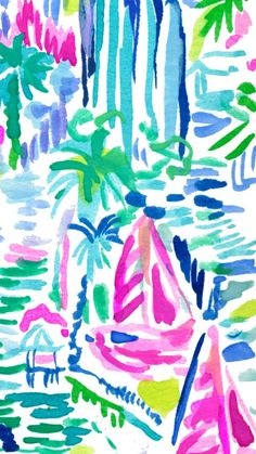 New Fashion Wallpaper Backgrounds Style Lilly Pulitzer 68 Ideas Palm Leaf Wallpaper, Beach Wallpaper, Of Wallpaper, Wallpaper Backgrounds, Wallpapers, Lily Pulitzer Painting, Lilly Pulitzer Iphone Wallpaper, Lilly Pulitzer Patterns, Lilly Pulitzer Prints