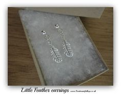 Hey, I found this really awesome Etsy listing at https://www.etsy.com/uk/listing/519207212/little-feather-stud-earrings