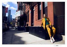 Reposting @roxanemls: God's mag @godsmagazine  By @anthonyarquier  With @cyrillaine  #mklhagency #newyork #fashion #model #style