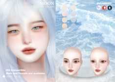 Sims 4 Mods Clothes, Sims 4 Clothing, Sims Mods, Sims 4 Cas, Sims Cc, Anime Hairstyles Male, The Sims 4 Skin, Pelo Sims, Sims 4 Cc Makeup