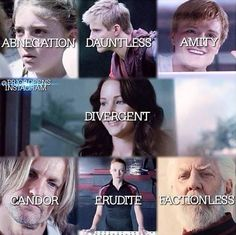 I love how Snow is factionless. ~Divergent~ ~Insurgent~ ~Allegiant~
