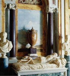 Sleeping Hermaphrodite in Niche of the Sala dell'Ermafrodito