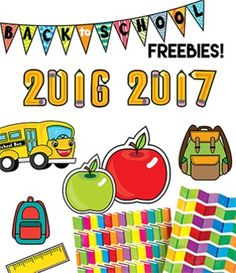 **UPDATED FOR 2016-2017 SCHOOL YEAR!!**This FREE back to school clip art set is offered to you as a back to school gift from Watson Works!  This set includes:-2 digital background papers-9 graphics (2015 pencil graphic, 2016 pencil graphic, 2 backpacks, 1 ruler, 2 apples (red & green), 1 school bus, and a back to school bunting/banner)Images are png files, all 300 dpi for high quality, clear, crisp printing.Watson Works is created by Ashley & Heather Watson.