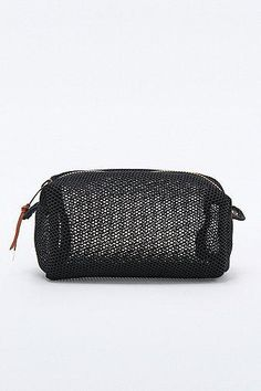 Mesh Cosmetic Case in Black #women #covetme #urbanoutfitters