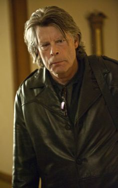 Bachman (Stephen King) the cleaner. (Look up Stephen King you'll see Bachman is a pen name he uses)