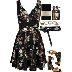 Freaking Tuesdays by horanhugamanda on Polyvore featuring polyvore, fashion, style, Mela Loves London, Falke, Office, La Mer, Wet Seal, Honora and AllSaints