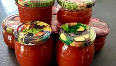 Ketchup z cukinii z papryką My Favorite Food, Favorite Recipes, Ketchup, Preserves, Good Food, Spices, Food And Drink, Veggies, Jar