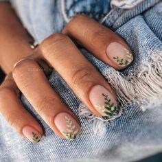 Nagellack Design, Nagellack Trends, Stylish Nails, Trendy Nails, Hair And Nails, My Nails, Jolie Nail Art, Fire Nails, Minimalist Nails