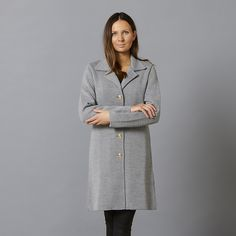 PURA neulejakku Raincoat, Wool, Knitting, Jackets, Fashion, Rain Jacket, Down Jackets, Moda, Tricot