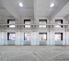 Neri&Hu transforms Beijing missile factory into car workshop