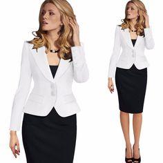 Plus Size 2016 Women Spring Autumn Blazers