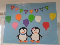 Mapa aniversários Pinguins Classroom, Maps, Penguin, Decorated Notebooks, Early Education, Activities, Winter Time, Ideas, Bebe